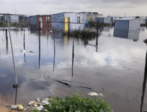 Brutal Reality for Shack-dwellers after storm hits Cape Town
